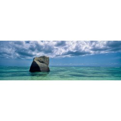A rock in the Indian ocean