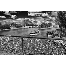 Padlocks on the Seine