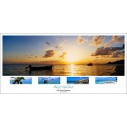 Coucher de soleil aux Seychelles - World collection