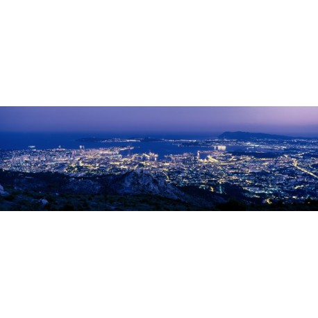 Toulon by night