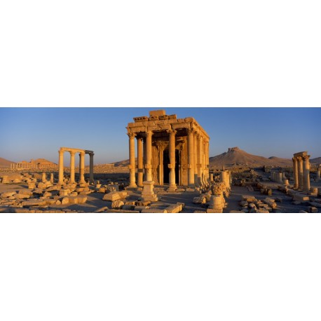 Sunrise over Palmyra in Syria