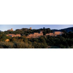 Summer light on the village of Oppede-le-Vieux in Luberon