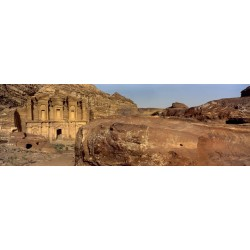 The monastery of Deir in Petra